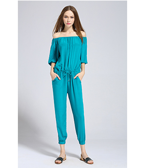 Dress - Silk crepe de chine jumpsuit