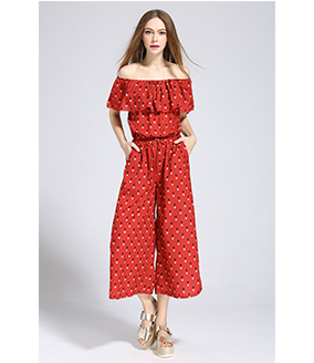 Dress - Printed Jumpsuit